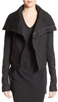 Rick Owens Women's Stretch Cotton Biker Jacket