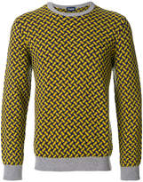 Drumohr weave patterned jumper