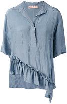 Marni polo collar blouse - women - Viscose - 38