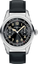 Montblanc 117744 Summit PVD stainless steel and leather Smartwatch