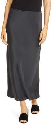 Eileen Fisher Bias Cut Silk Maxi Skirt