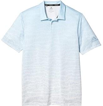 adidas Primeblue Block Polo Shirt (Easy Blue) Men's Clothing