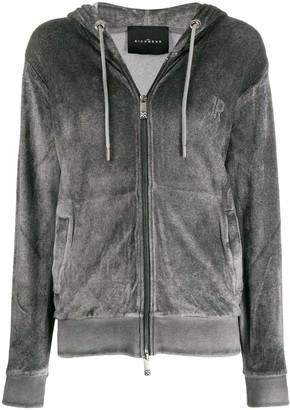 John Richmond Smith zipped hoodie