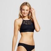 Women's Crochet High Neck Bikini Top - Mossimo