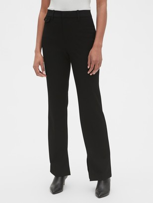 Gap High Rise Slim Boot Pants with Ankle Slit