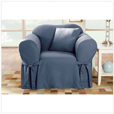Sure Fit Cotton Duck Club Chair Slipcover