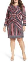 Vince Camuto Plus Size Women's Crepe Body-Con Dress