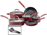 Farberware Millennium 12-pc. Porcelain Nonstick Cookware Set