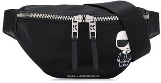 Karl Lagerfeld Paris Ikonik nylon beltbag