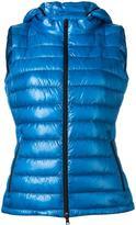 Herno zipped hooded jacket - women - Polyamide/Polyimide/Goose Down/Spandex/Elastane - 40