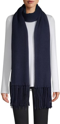 Saks Fifth Avenue COLLECTION Cashmere Core Rib-Knit Scarf