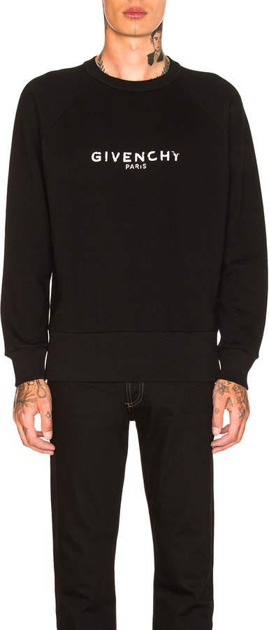 Givenchy Logo Raglan Sweatshirt