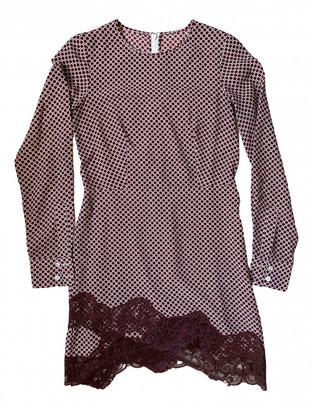 Stella McCartney Burgundy Silk Dresses
