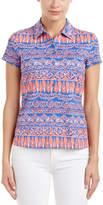J.Mclaughlin Catalina Cloth Polo Shirt
