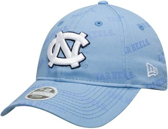 New Era Women's Carolina Blue North Carolina Tar Heels Worded 9TWENTY Adjustable Hat