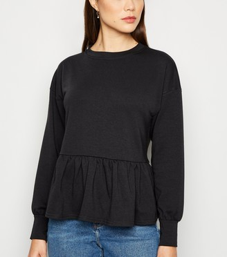 New Look Peplum Sweatshirt