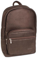 Kenneth Cole Reaction Colombian Leather Single Gusset Backpack Sling Tablet Case