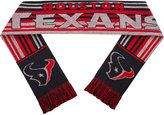 Forever Collectibles Houston Texans Glitter Stripe Scarf
