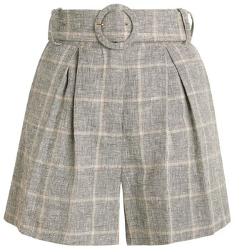Sandro Paris Check Shorts