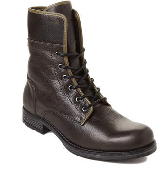 Pajar Grey Lace-Up Leather Waterproof Boots