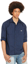 Denim & Supply Ralph Lauren Raw Edge Shirt, Mini Circle Print