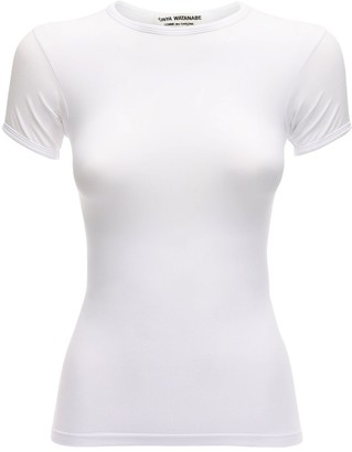 Junya Watanabe Stretch Nylon Jersey T-Shirt