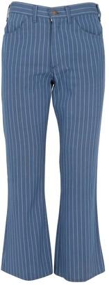 Levi's Blue Cotton Trousers