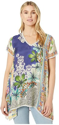 Johnny Was Marron Tunic (Multi) Women's Clothing