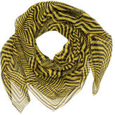 McQ by Alexander McQueen Printed Silk Scarf