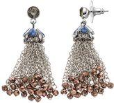 Simply Vera Vera Wang Beaded Tassel Drop Earrings