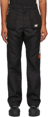 Heron Preston Black Caterpillar Edition Pocket Trousers