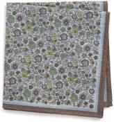 Eton Men's Floral Pocket Square