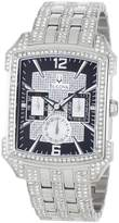 Bulova Men's 96C108 Crystal Striking Visual Design Watch