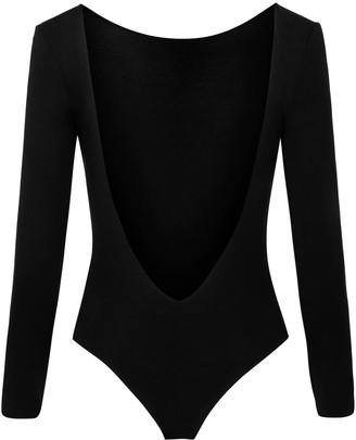 Saint Body Deep Open Back Bodysuit