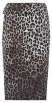 Tom Ford Leopard-printed skirt