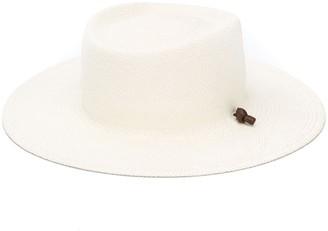 Ruslan Baginskiy Fedora Straw Hat
