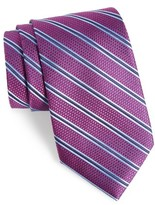Nordstrom Men's Parktime Stripe Silk Tie