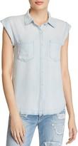 Joe's Jeans Emilia Sleeveless Chambray Shirt