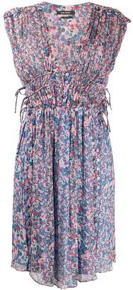Isabel Marant Oaxoli floral-print silk dress