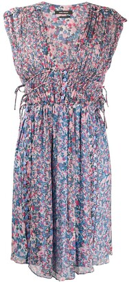 Isabel Marant Oaxoli floral print dress