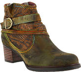 Spring Step L`Artiste by Leather Booties -Shazzam