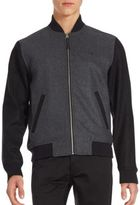 Original Penguin Wool Bomber Jacket