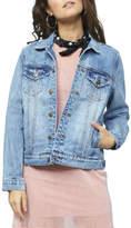 MinkPink Flamingo Patch Jacket