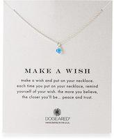 Dogeared Make a Wish Blue Onyx Necklace