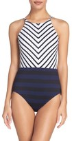 Tommy Bahama Women's Channel One-Piece Swimsuit