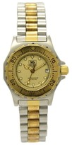 Tag Heuer 3000 935.408 Professional 200M Stainless Steel & Gold Plated Metal Quartz 28 mm Women