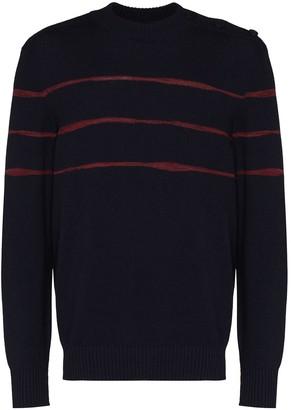 Ermenegildo Zegna Knitted Stripe Jumper