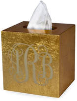 Mike and Ally Mike & Ally Eos Monogram Boutique Tissue Box, Gold
