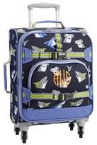 Pottery Barn Kids Mackenzie Navy/Blue Tropical Sharks Backpack