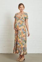 Maternity Crepe Joline Dress - Tuscany,